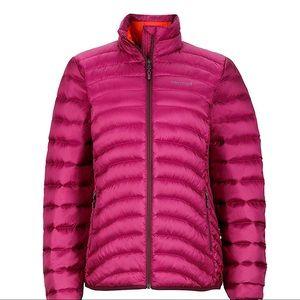 Marmot Women's Aruna Down Puffer Jacket-Magenta